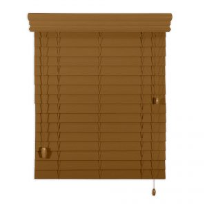 store horizontal en bois - wood horizontal blind
