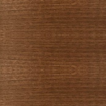 pecan color wooden horizontal blind