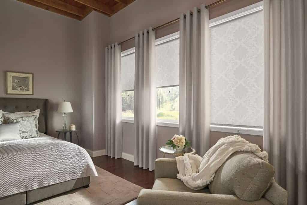 toile à rouleau translucide pour fenêtre sur mesure
