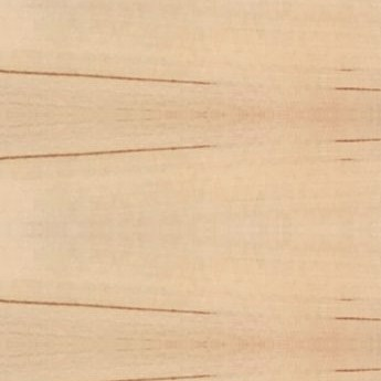 natural color wooden horizontal blind