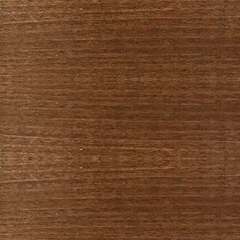 pecan color wooden horizontal blind